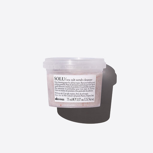 Davines Solu Sea Salt Scrub - 75ml Travel Size