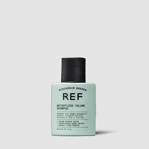REF Weightless Volume Shampoo - 60ml Travel Size