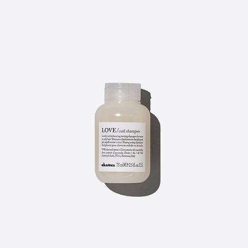 Davines Love Curl Shampoo - 75ml Travel Size
