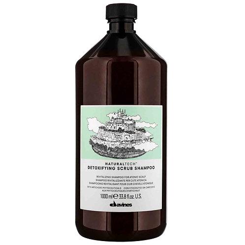 Davines NT Detoxifying Scrub Shampoo - 1000ml