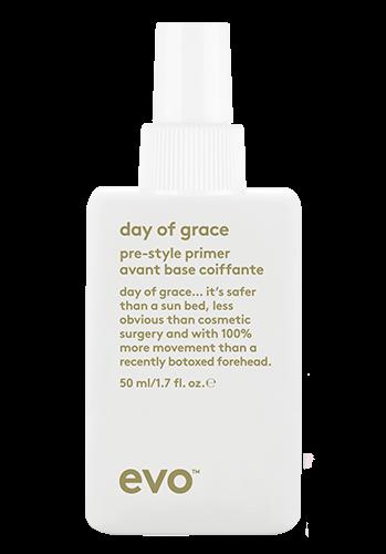 Evo Day of Grace Pre-Style Primer - 50ml Travel Size