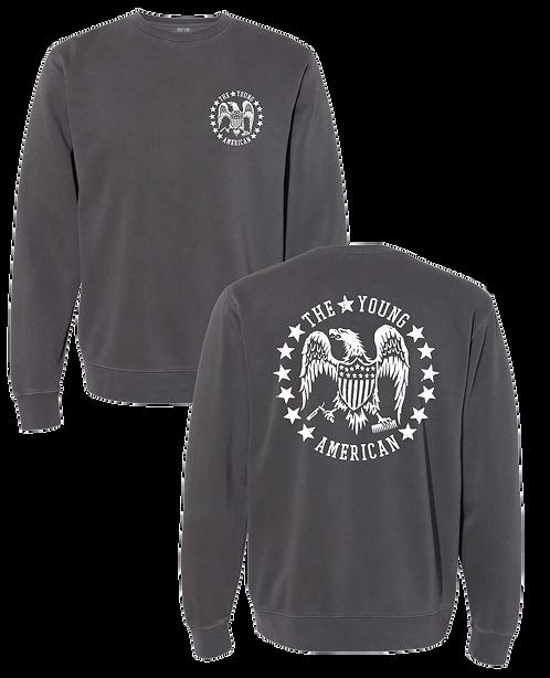 Vintage Black Logo Sweatshirt
