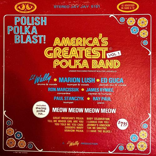 Li'l Wally - America's Greatest Polka Band - LP  (J5151)