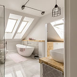 Bathroom light renovation