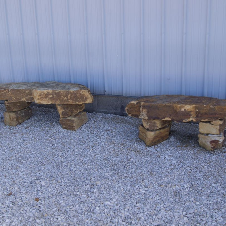 Stone Benches & Tables