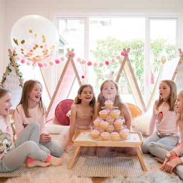 Winter-Kids-Birthday-Party-Ideas-Slumber