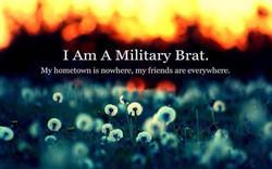I AM a Military Brat