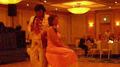 Tammi (Williams) Ellis, WAHS Class of '76, being serenaded on her birthday!