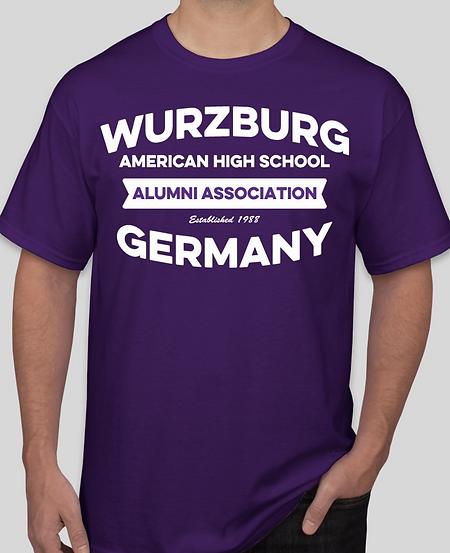"2018 WAHS ""All-Class"" Alumni Reunion T-Shirt Front"