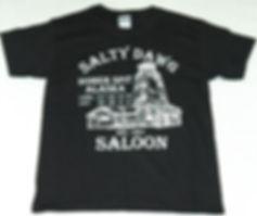 Salty Dawg Saloon T-Shirt from Homer, Alaska
