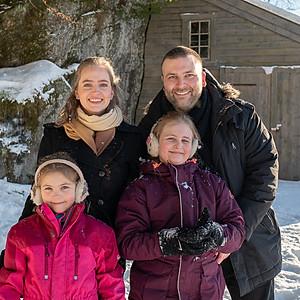 Familien Hanevik