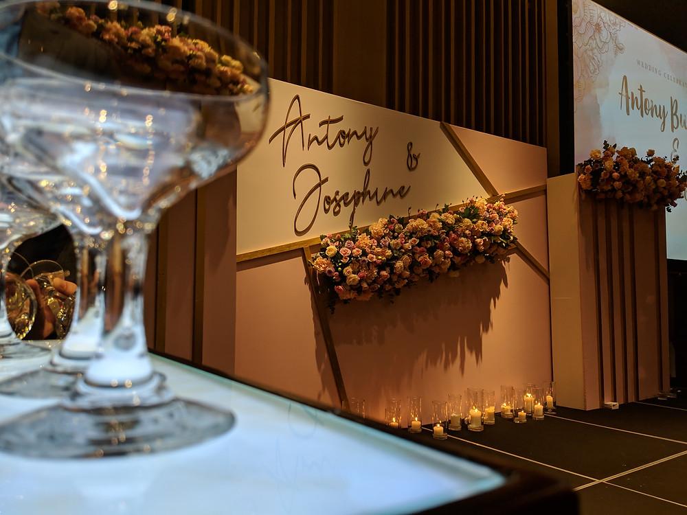 Emcee Singapore - Ainsley Chong, Wedding Dinner of Antony Budinoto & Josephine Sim