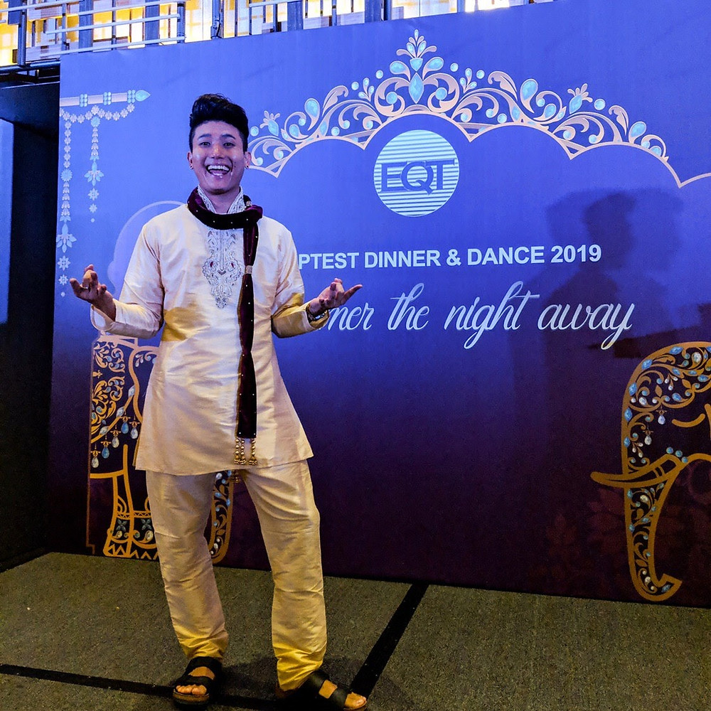 Emcee Singapore - Ainsley Chong, Equiptest Dinner & Dance 2019