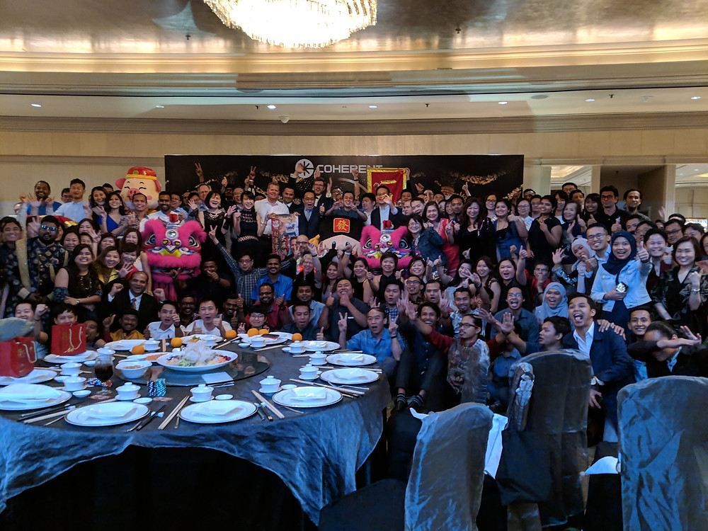 Emcee Singapore - Ainsley Chong, Coherent Dinner & Dance 2019