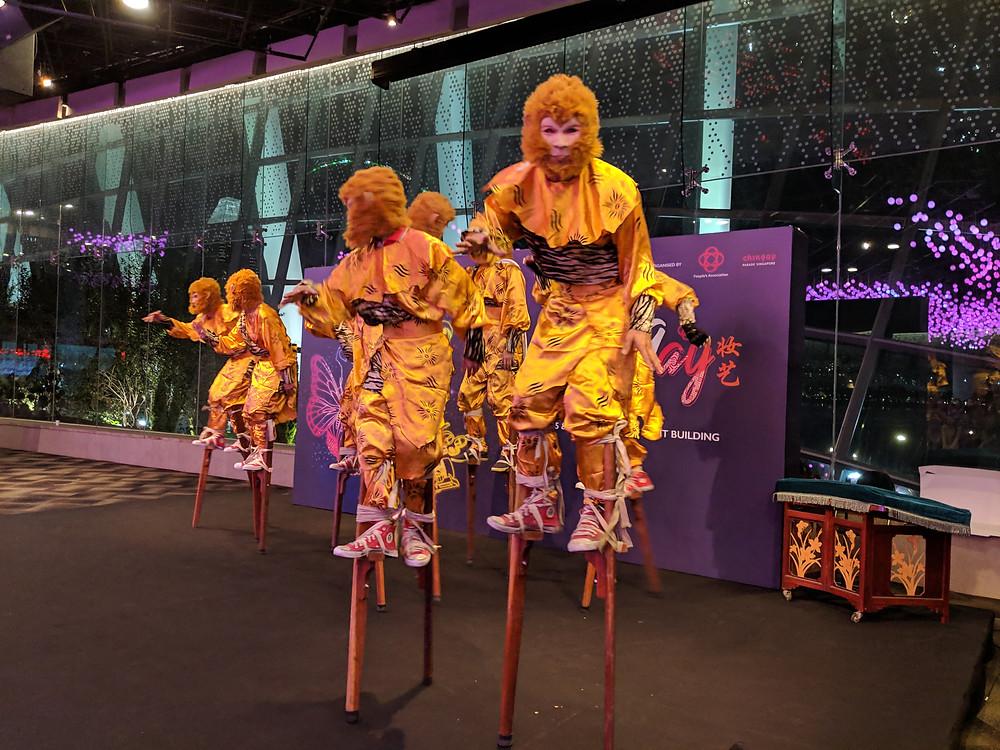Emcee Singapore - Ainsley Chong, Chingay Parade 2019 International Group Thank You Reception