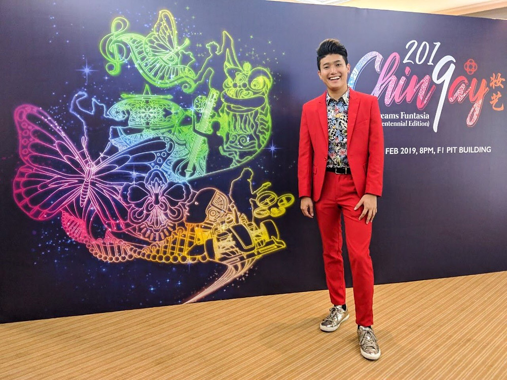 Emcee Singapore - Ainsley Chong, Chingay Parade Singapore Welcome Lunch 2019