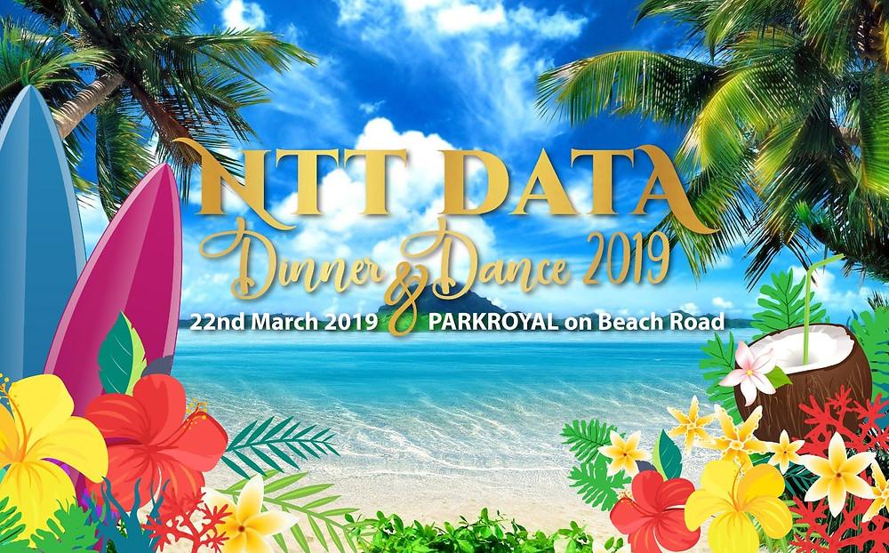 Emcee Singapore - Ainsley Chong, NTT Data Dinner and Dance 2019