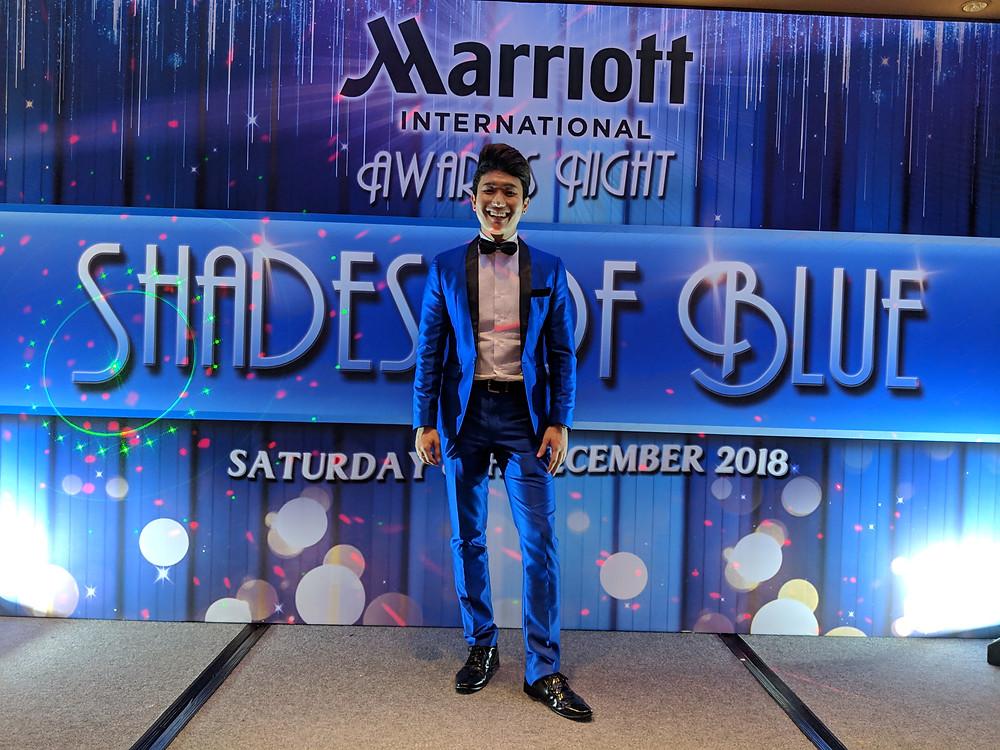 Emcee Singapore - Ainsley Chong, Marriott International Awards Night 2018