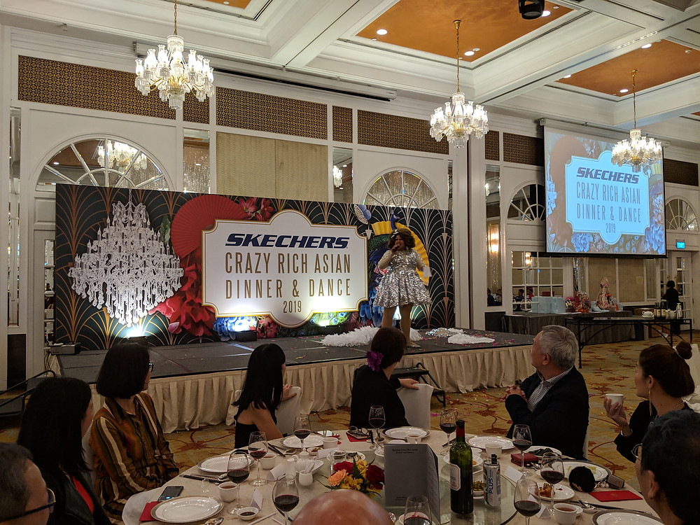 Emcee Singapore - Ainsley Chong, Skechers Dinner and Dance 2019
