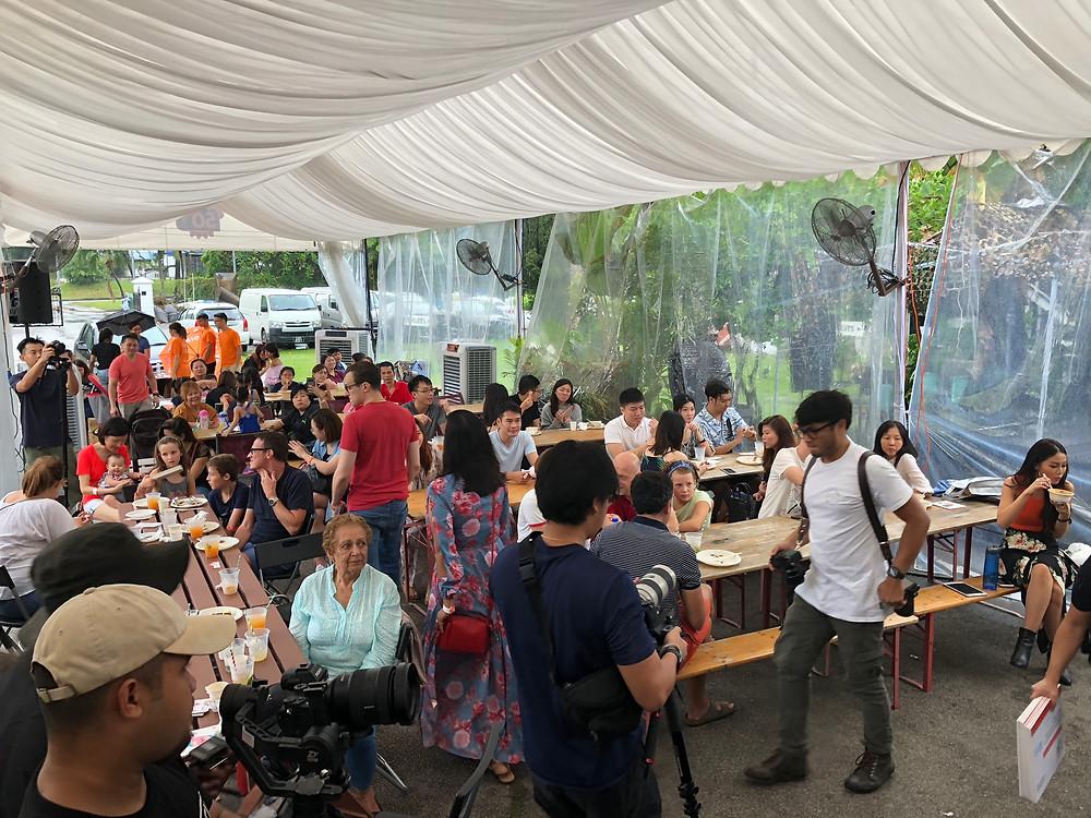 Emcee Singapore - Ainsley Chong, Kinder 50th Birthday Celebration