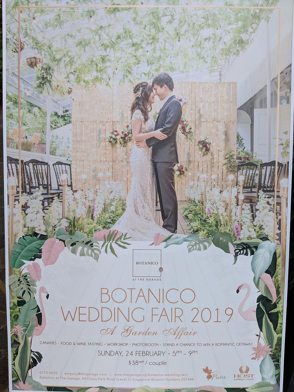 Emcee Singapore - Ainsley Chong, The Botanico Wedding Fair