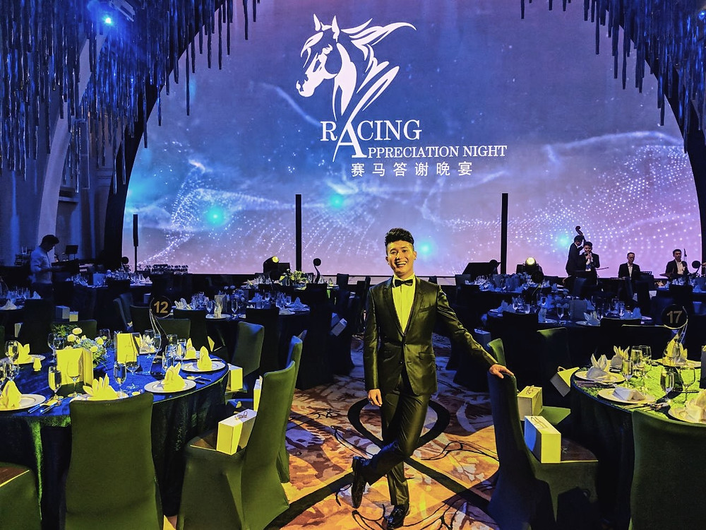 Emcee Singapore - Ainsley Chong, Racing Appreciation Night 2019