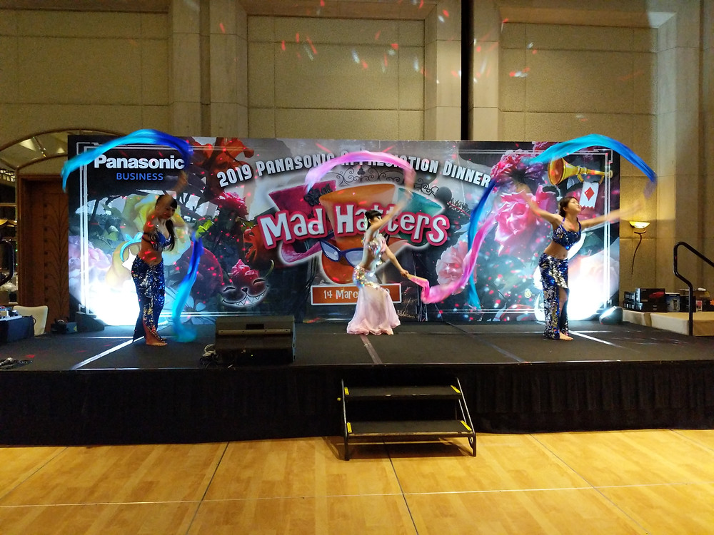 Emcee Singapore - Ainsley Chong, Panasonic Appreciation Dinner 2019