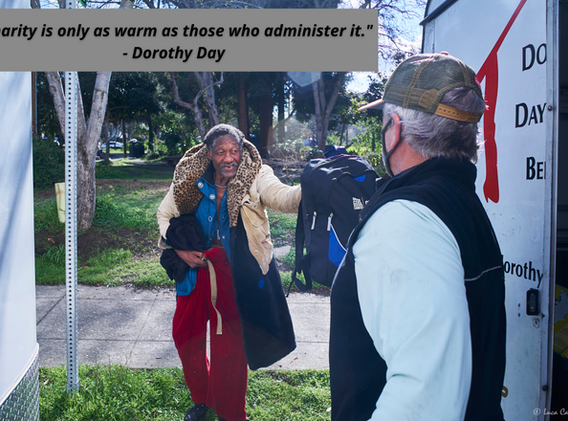 Charity is only as warm as those who administer it. - Dorothy Day.png