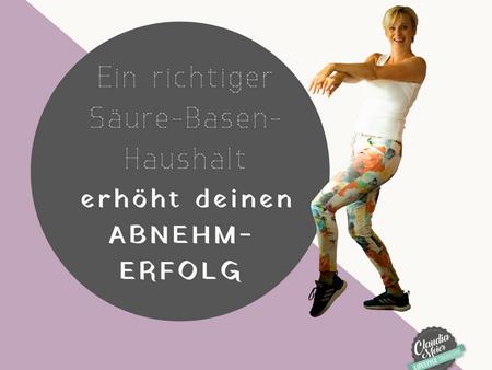 Ein richtiger Säure-Basen-Haushalt erhöht deinen ABNEHM-ERFOLG enorm!