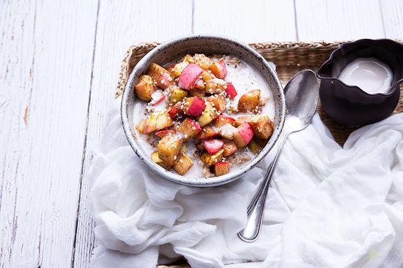 Apfelstrudel-Porridge