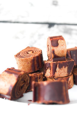Schokolade-Bananen-Toffees