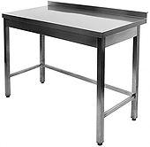 Nerūdinačio plieno stalas