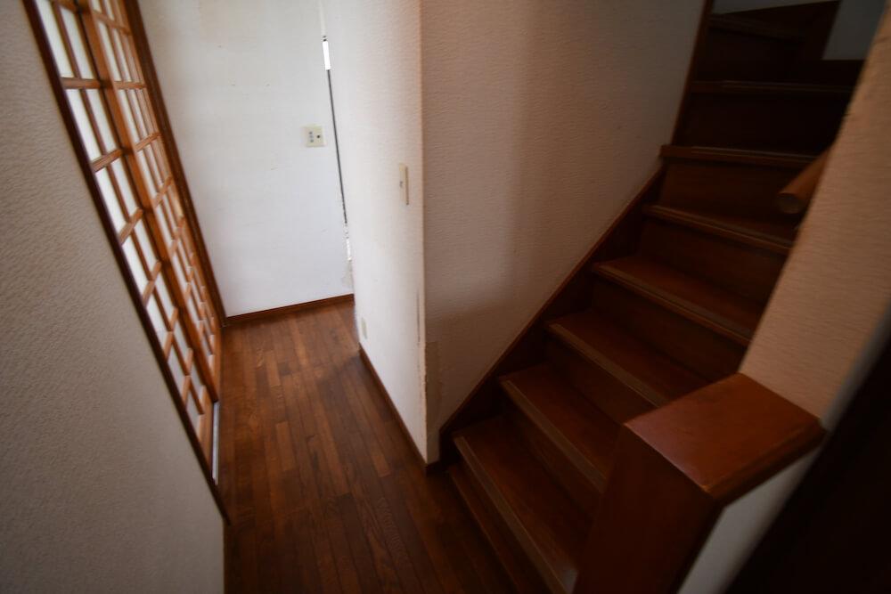 階段before
