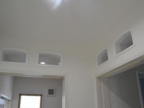 玄関 天井壁