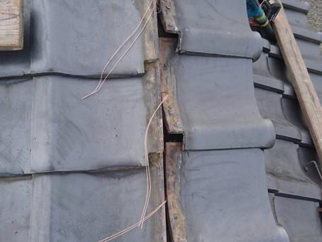 屋根 瓦改修工事