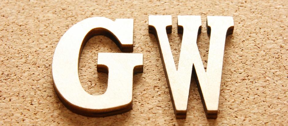 GWの営業時間とお休みのご案内