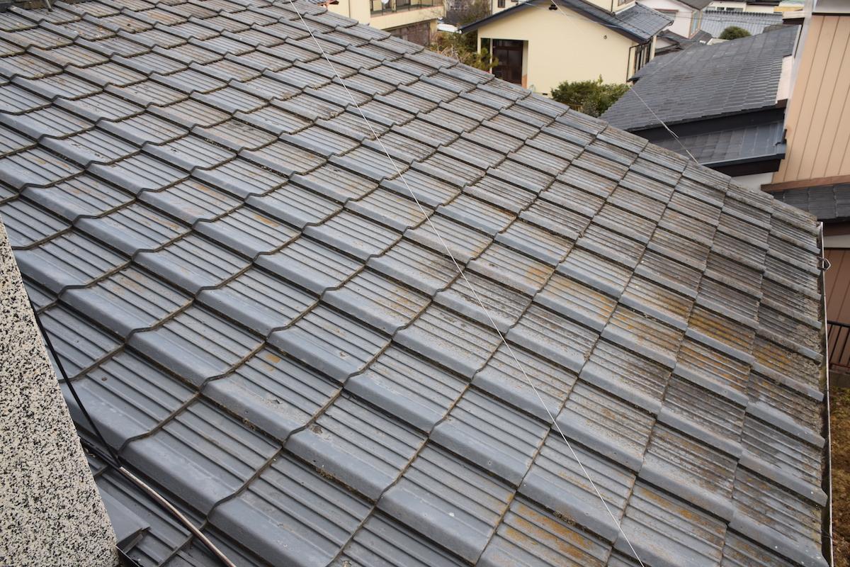 屋根 before