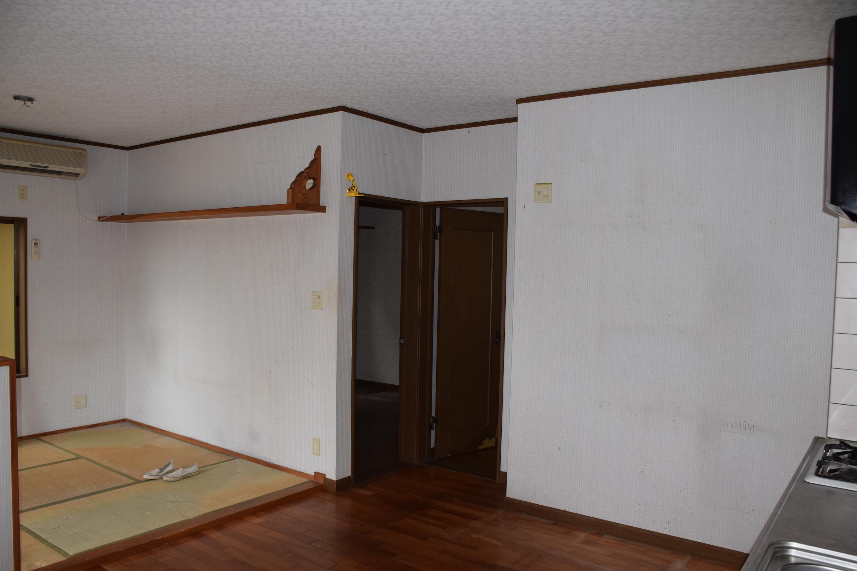 リビング~廊下before