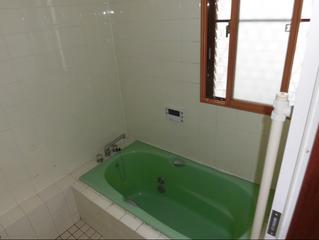 浴室リフォーム システムバス設置