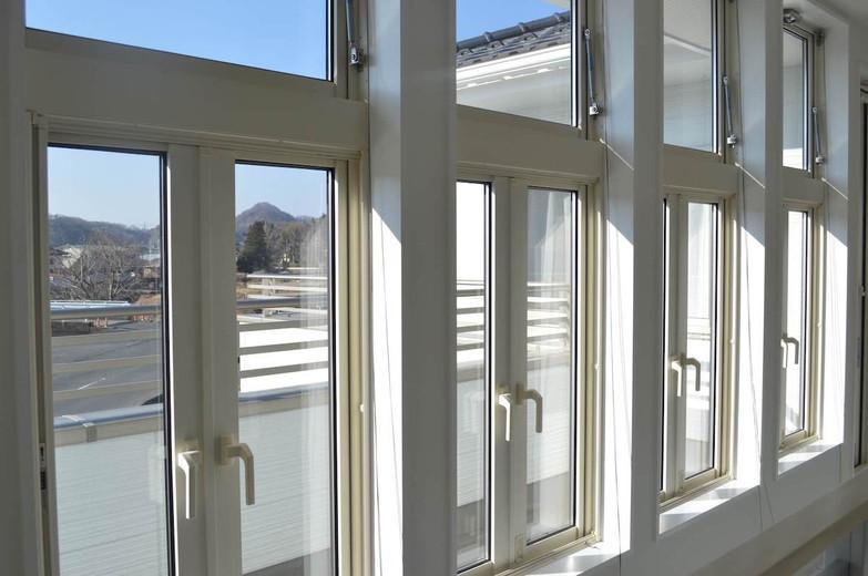 2階ホール 窓