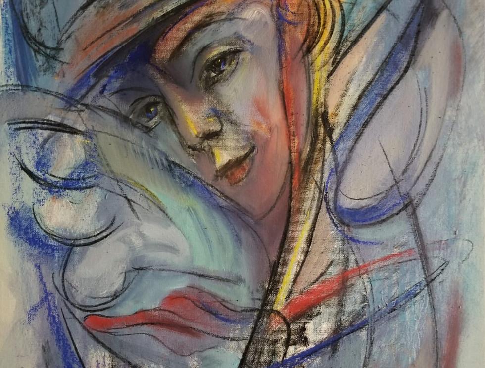 SERIE: RENACER DEL RETORNO Pastel/Canvas