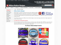 Willow Button Badges