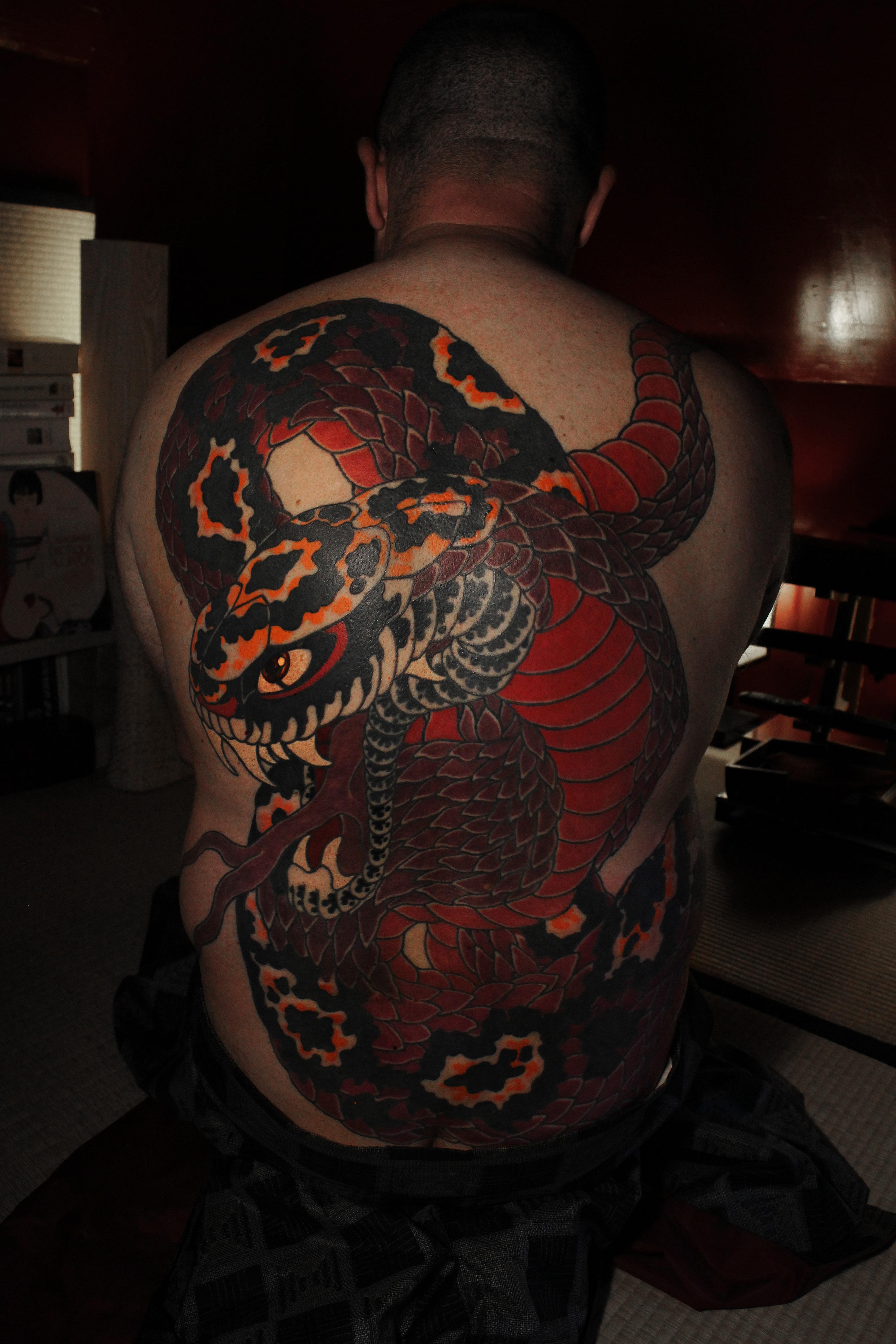 Nukibori Hebi 蛇