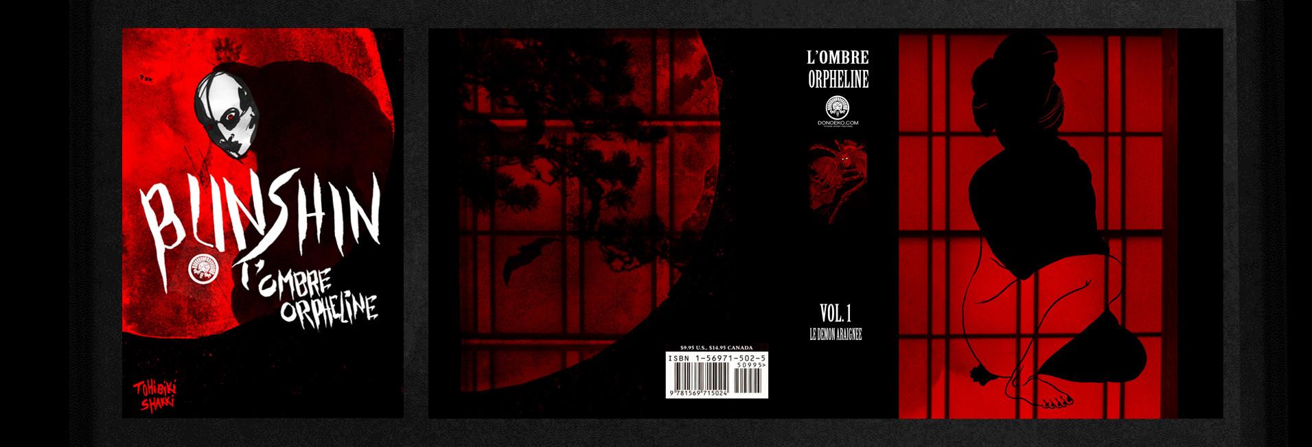 01 ENTREE COVER COUVERTURE BD BUNSHIN OM