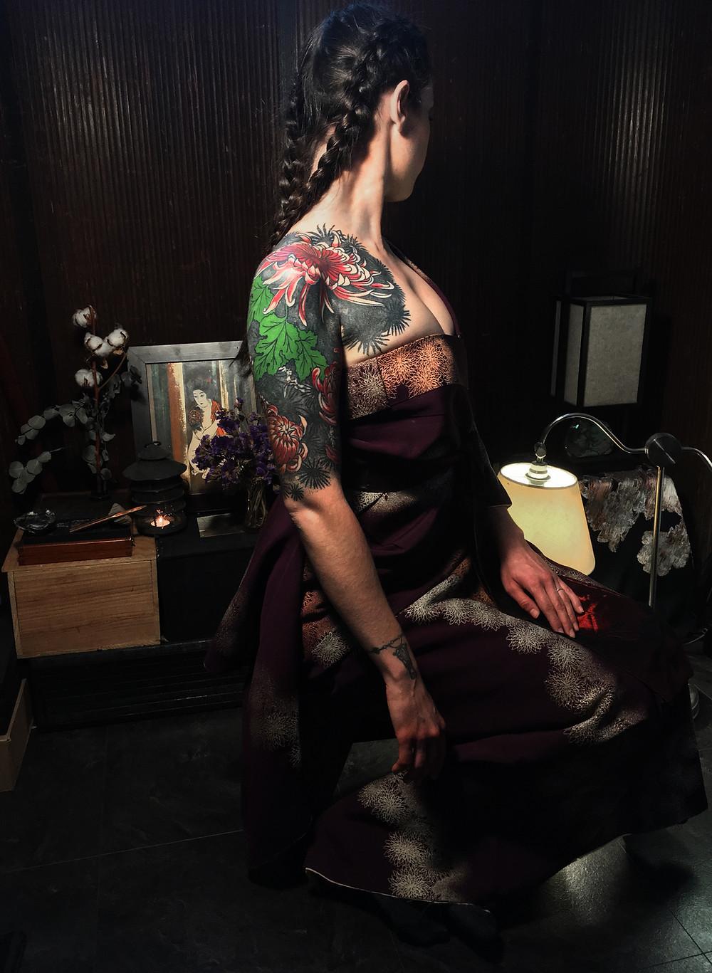 Tohibiki. Mikiri ancien. Atelier Donoeko.