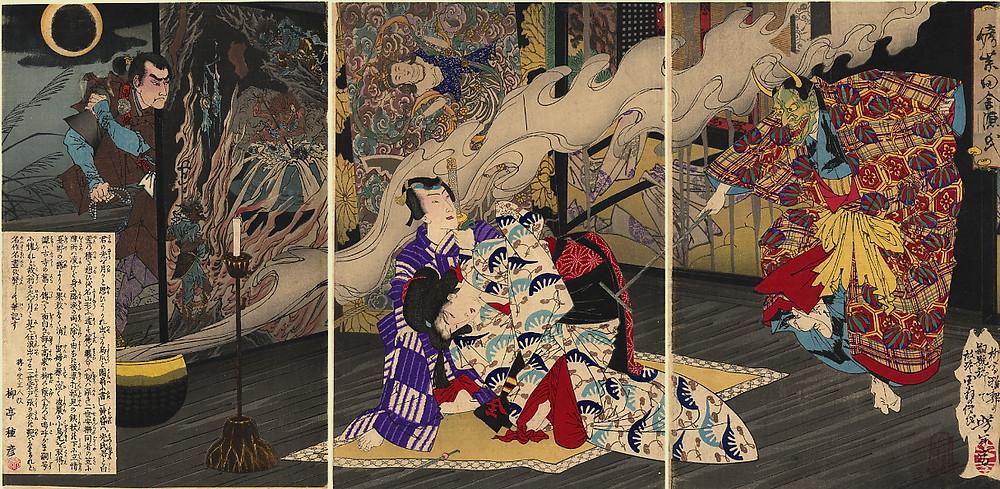Le conte de Genji.