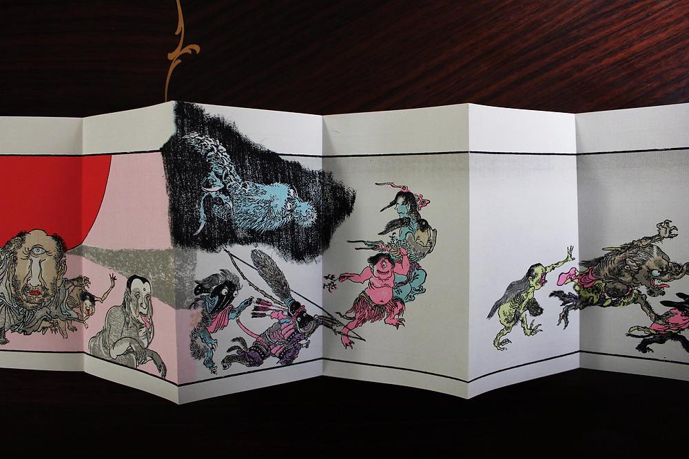 Kawanabe Kyôsai - L'histoire illustrée des cents démons