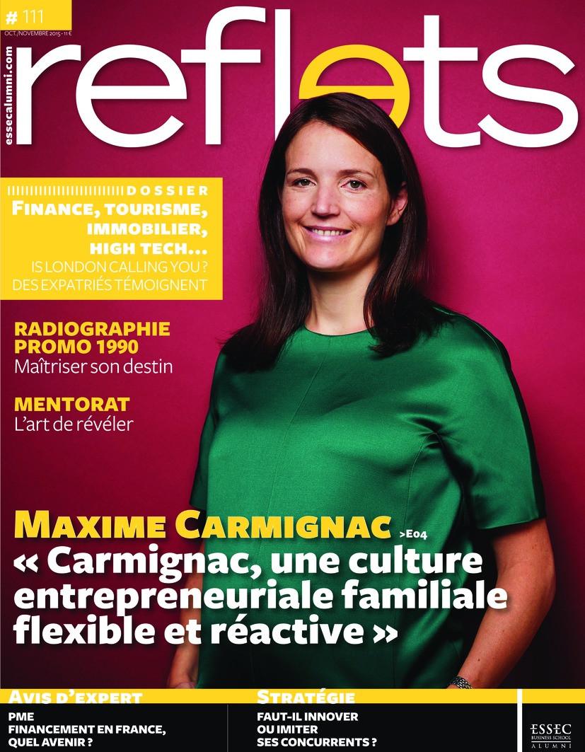 Un rôle à jouer, théâtre d'entreprise, dans Reflets Essec Magazine Octobre 2015