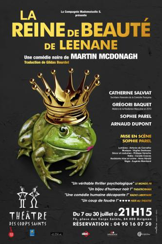La Reine de Beauté de Leenane - Festival d'Avignon 2016 OFF