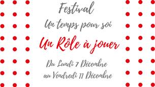 """Festival """"Un temps pour soi"""""""